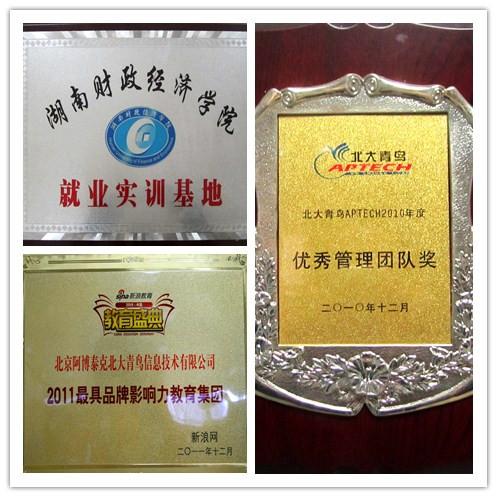 北大青鸟长沙华瑞软件学校荣誉